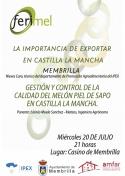 Charla: La exportación del Melón