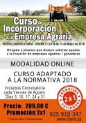 Curso de Incorporación a la Empresa Agraria - Online
