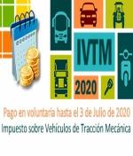 Aplazamiento del pago en voluntaria del Impuesto sobre Vehículos