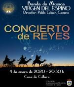 Concierto de Reyes de la Banda Virgen del Espino