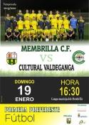 El Membrilla C.F. recibe al Valdeganga.