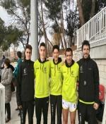 Cuatro marcas mínimas para los atletas del Club Atletismo Membrilla en la primera competición del año.