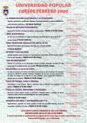 Cursos de Febrero de la Universidad Popular de Membrilla