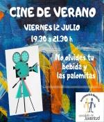 Cine de Verano en el Centro Juvenil