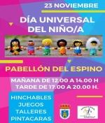 Ven a conmemorar el Día universal del Niño