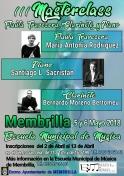 III Masterclass Flauta Travesera, Clarinete y Piano