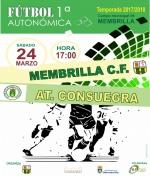 El Membrilla C.F. recibe al At. Consuegra