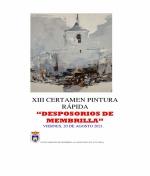 XIII Certamen de Pintura Rápida Desposorios de Membrilla