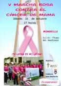 V Marcha Rosa Contra el Cáncer de Mama