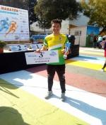 Pedro Román triunfa en Alhaurín el Grande (Málaga) en la Media Maratón.