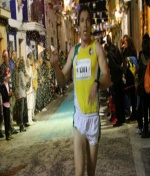 Gran actuación de Pedro Román en la San Silvestre de Rocafort (Valencia)