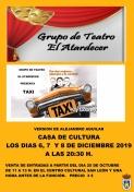 El Grupo de Teatro Atardecer pone en escena: Taxi