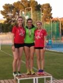 Alicia Megía Campeona Regional absoluta de salto de longitud