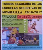 Torneo Clausura de las Escuelas Deportivas 2016-2017