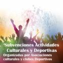 Subvenciones para las asociaciones culturales y clubes deportivos de la provincia de Ciudad Real