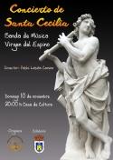 Concierto de Santa Cecilia de la Banda Virgen del Espino